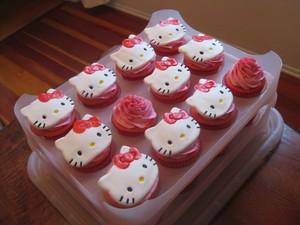 Hello Kitty कपकेक