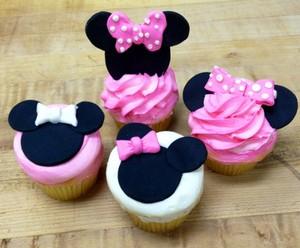 Minnie कपकेक