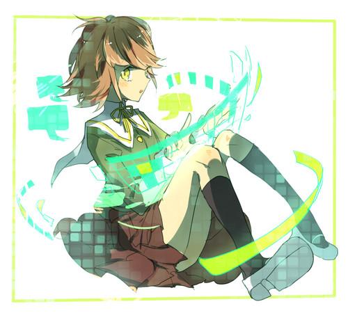 Dangan Ronpa वॉलपेपर called Chihiro Fujisaki