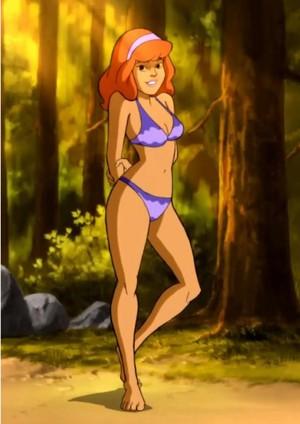 Daphne in a Bikini