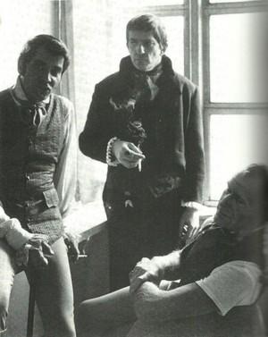 Anthony George, Jonathan Frid, and Louis Edmonds