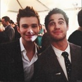 Darren and Chris  - darren-criss-and-chris-colfer photo
