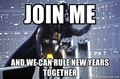 Darth Vader - New Years - star-wars photo