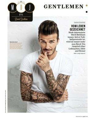 Beckham GQ