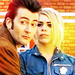 David Tennant as The Tenth Doctor with Billie Piper as Rose Tyler - david-tennant icon