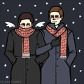 Dean and Castiel ☺ - dean-and-castiel fan art