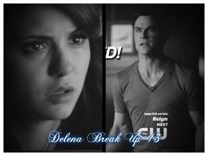 Delena Break Up