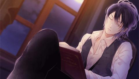 Reiji looking gorgeous