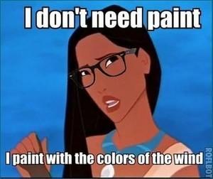 Pocahontas Meme