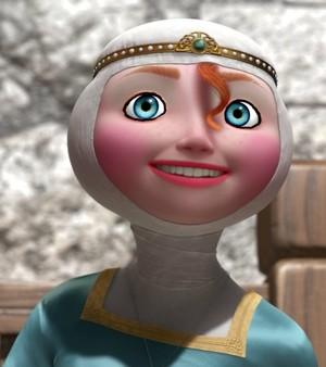 merida's damsel look