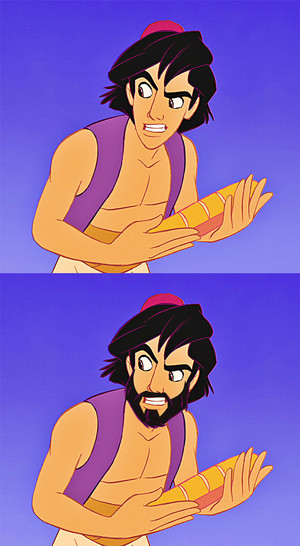 Aladdin With A Beard