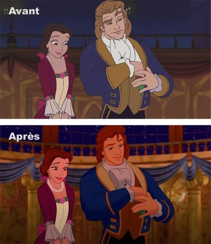 Disney Princess پیپر وال containing عملی حکمت titled [Visual reboot] BATB: Enchanted Christmas