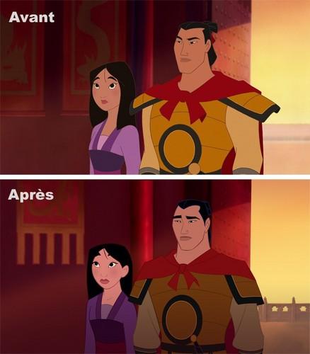 Disney Princess wallpaper possibly with anime entitled [Visual reboot] Mulan 2