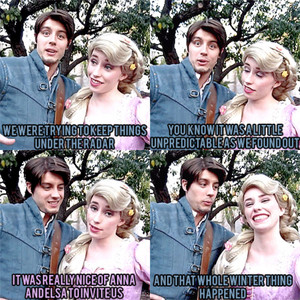 Rapunzel and Flynn talk about their trip to Arendelle for Elsa's Coronation (Part 1)