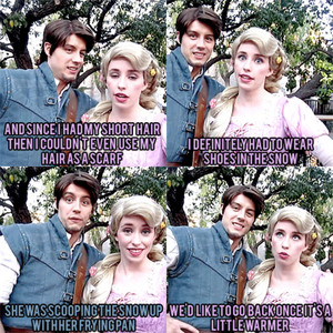 Rapunzel and Flynn talk about their trip to Arendelle for Elsa's Coronation (Part 2)