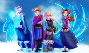 Frozen - Uma Aventura Congelante Gender Swap
