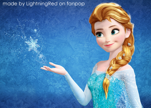 Anna as The Snow reyna