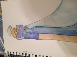 Purplerose17 Jack Frost and Elsa