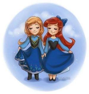 Anna and Ariel