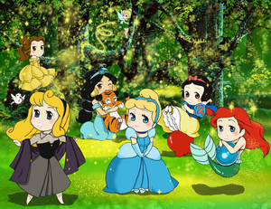 Princesses in the Forest