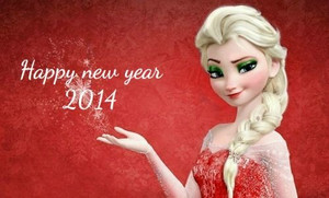 elsa happy new năm