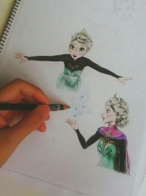 elsa art****
