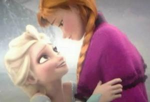 Princess Anna and 퀸 Elsa