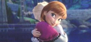 Anna smiling