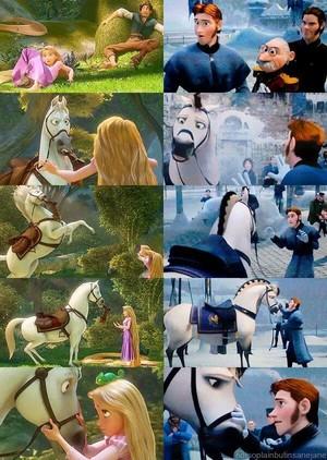 Rapunzel –Neu verföhnt and Frozen