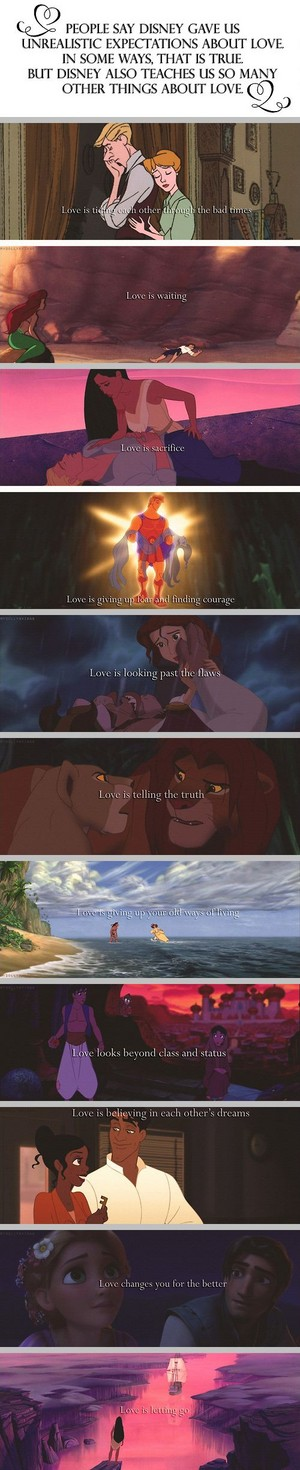What disney Taught About amor