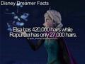Elsa and Rapunzel hair lenghts - disney-princess photo