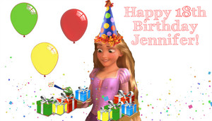 Happy Birthday Jennifer! (THEDisneyfreak)