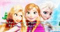 Rapunzel Anna Elsa - disney-princess photo