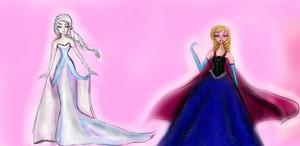 アナと雪の女王 Designer Outfits