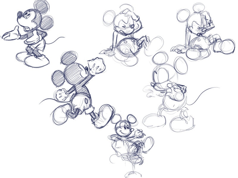 Mickey Sketches