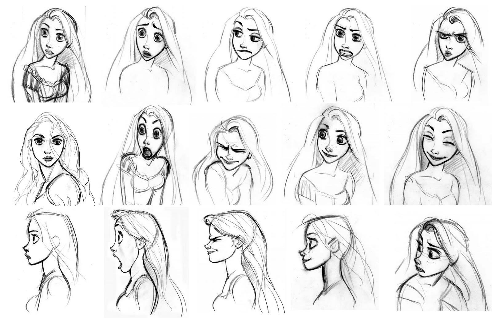 3d Character Design Books : Disney sketches images rapunzel sketch hd wallpaper and