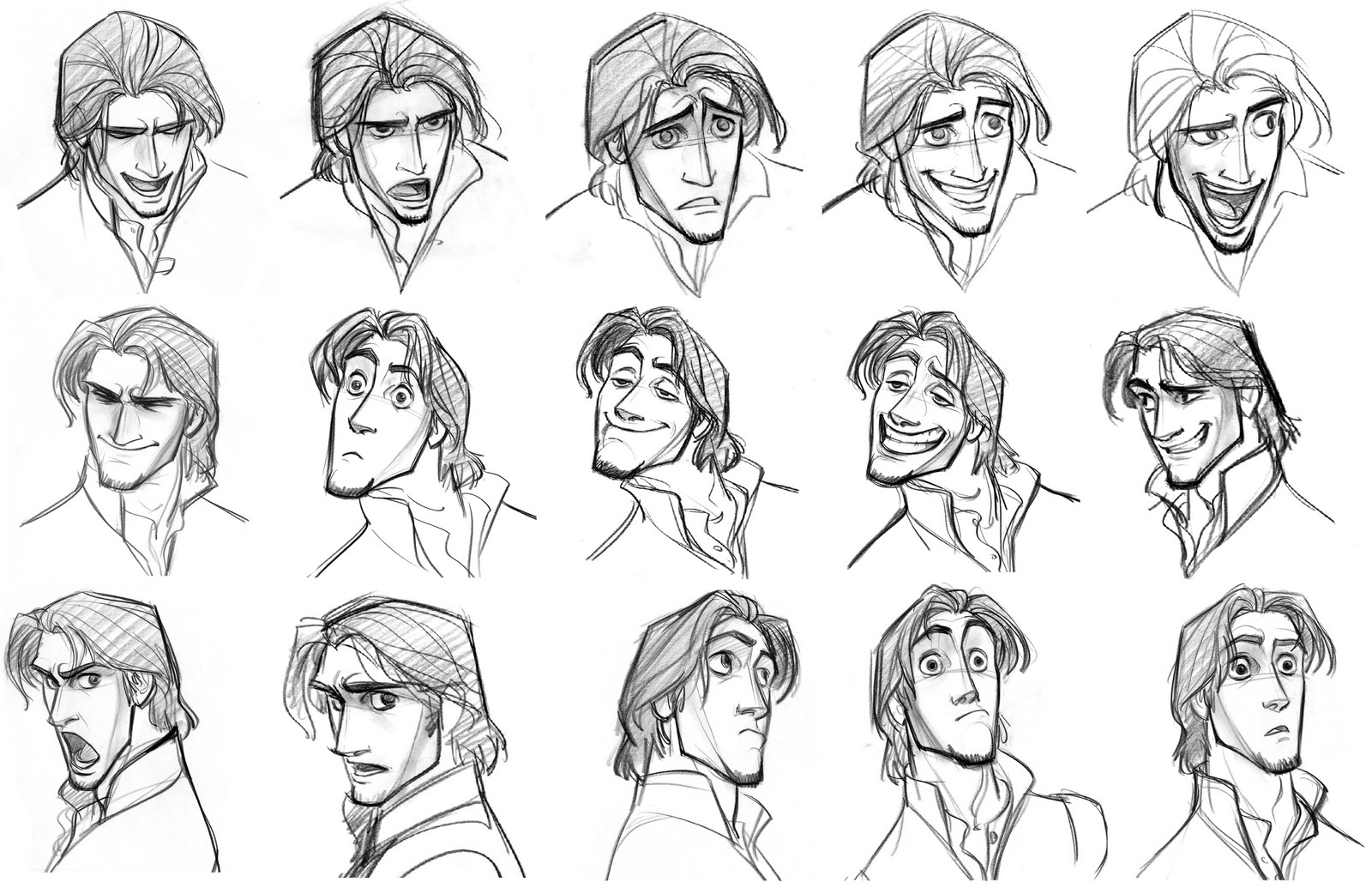 Character Design Where To Start : Disney sketches images flynn rider eugene fitzherbert