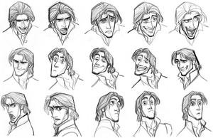 Flynn Rider/Eugene Fitzherbert Sketch