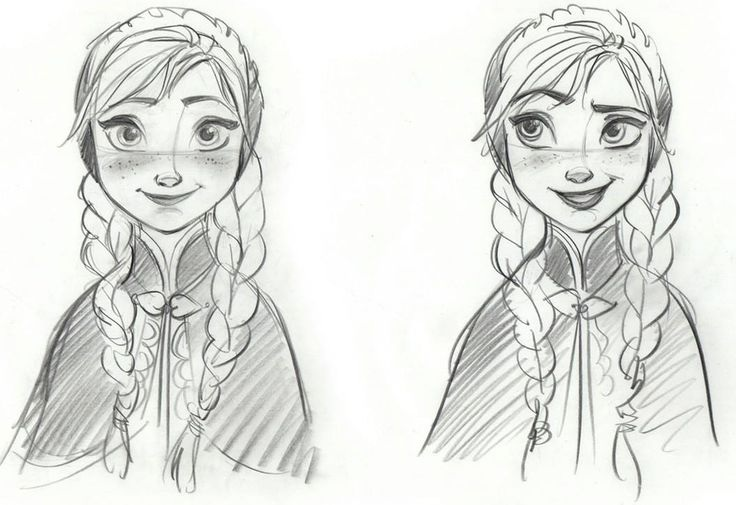 disney sketches images anna sketch hd wallpaper and