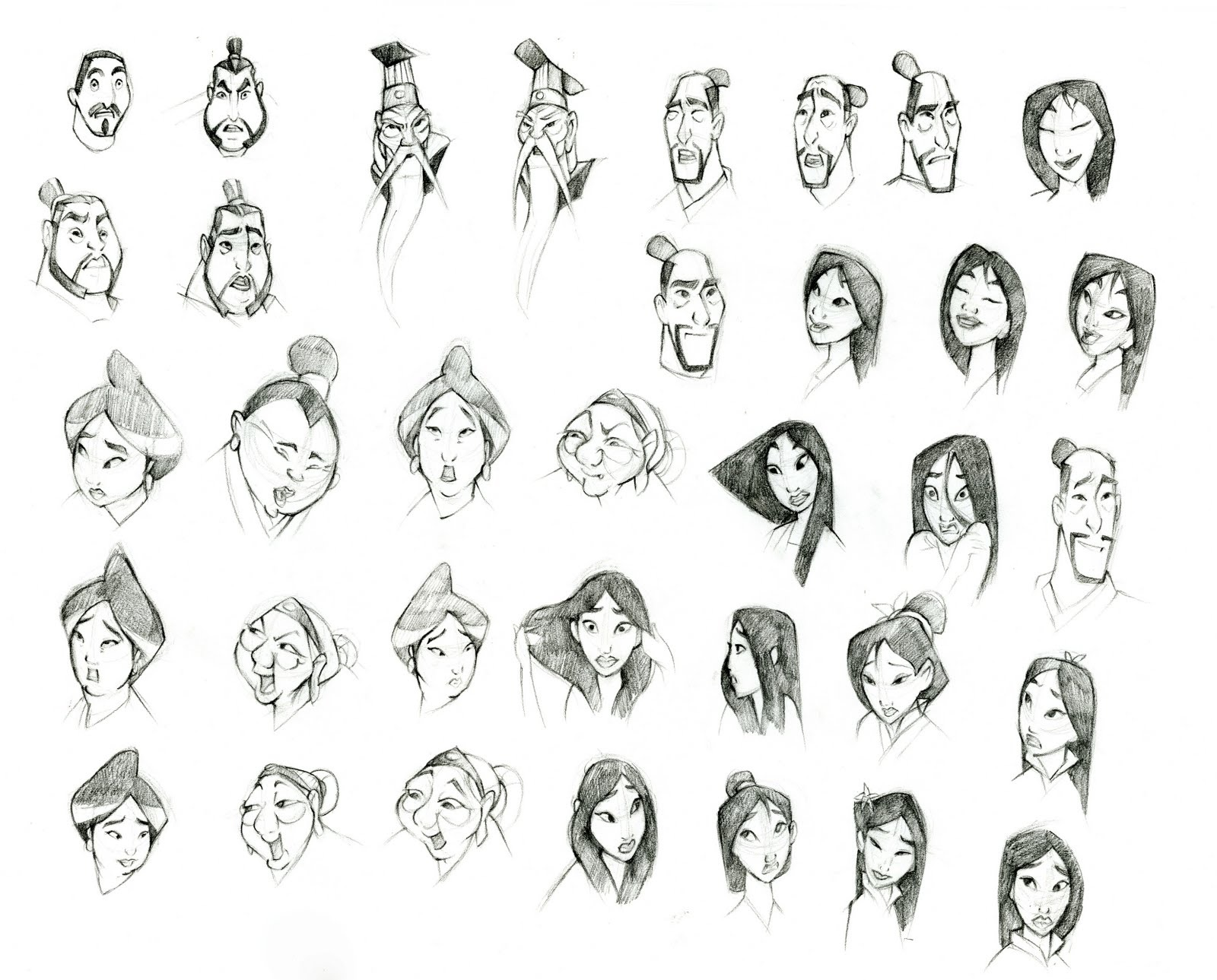 Character Design Disney Book : Disney sketches images mulan family hd wallpaper and