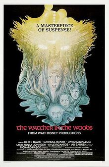 """Movie Poster For 1980 Disney Suspense, """"The Watcher In The Woods"""""""