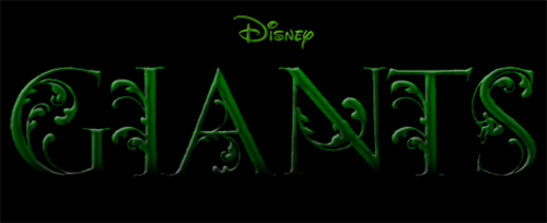 Disney's Giants fond d'écran titled Disney's Giants Logo