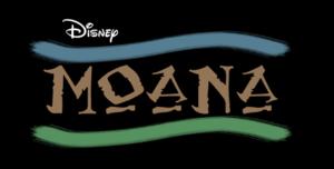 """Disney's """"Moana"""" Logo"""