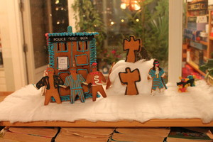 TARDIS gingerbread house