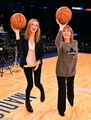Cast of Downton Abbey at Knicks Game - downton-abbey photo