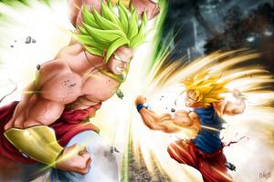 *Broly v/s Goku*