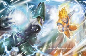 *Cell v/s Goku*