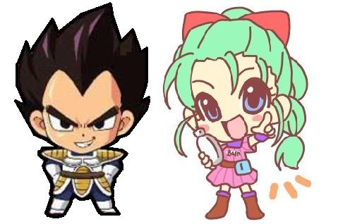 চিবি vegeta and bulma
