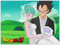 vegeta and bulma wedding