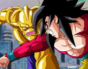 *Omega Shensron v/s Goku*